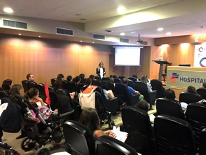 Grupo IHP enseña a más de 30 padres granadinos cómo reconocer a un niño con riesgo de parada cardiorrespiratoria