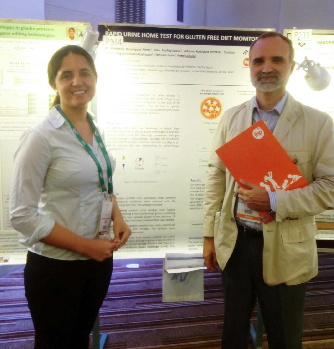 Profesionales de Grupo IHP Pediatría imparten una charla en el 17th International Celiac Disease Symposium