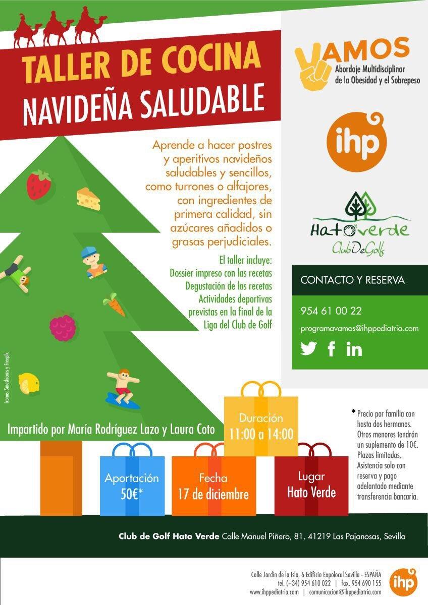 El Programa VAMOS prepara un taller de cocina navideña saludable