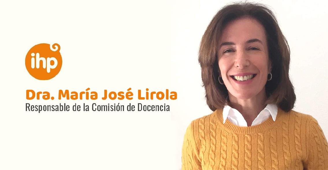 Grupo IHP nombra a la Dra. María José Lirola responsable de la Comisión de Docencia