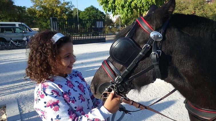 """""""El cambio en la conducta de algunos niños gracias al trato con los animales es sorprendente"""""""