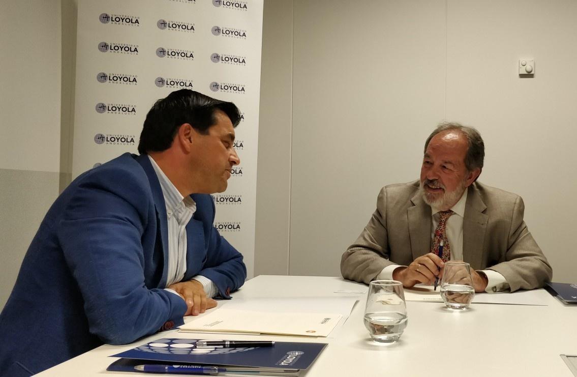 Grupo IHP y la Universidad Loyola Andalucía firman un acuerdo marco de colaboración