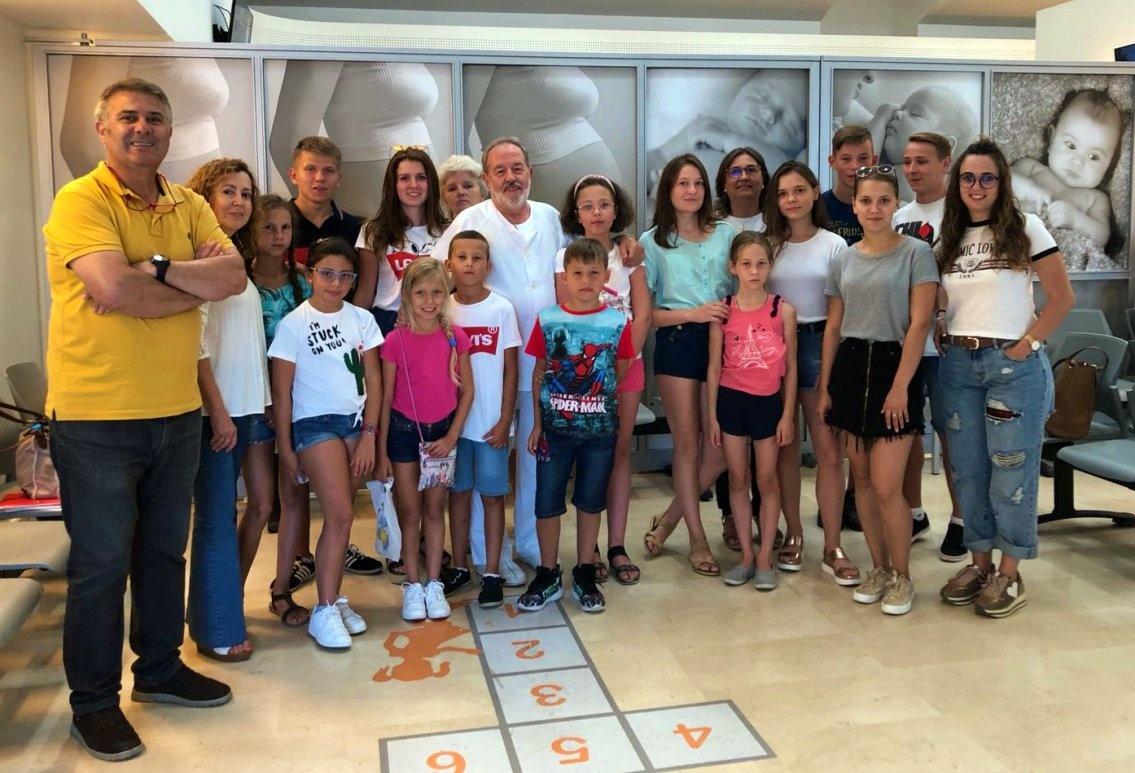 Grupo IHP colabora un año más con la acogida de niños bielorrusos en Sevilla y ofrece asistencia pediátrica gratuita