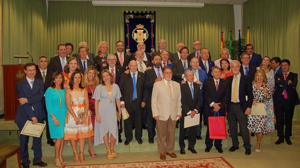El Dr. Alfonso Carmona toma posesión como presidente del Colegio de Médicos de Sevilla