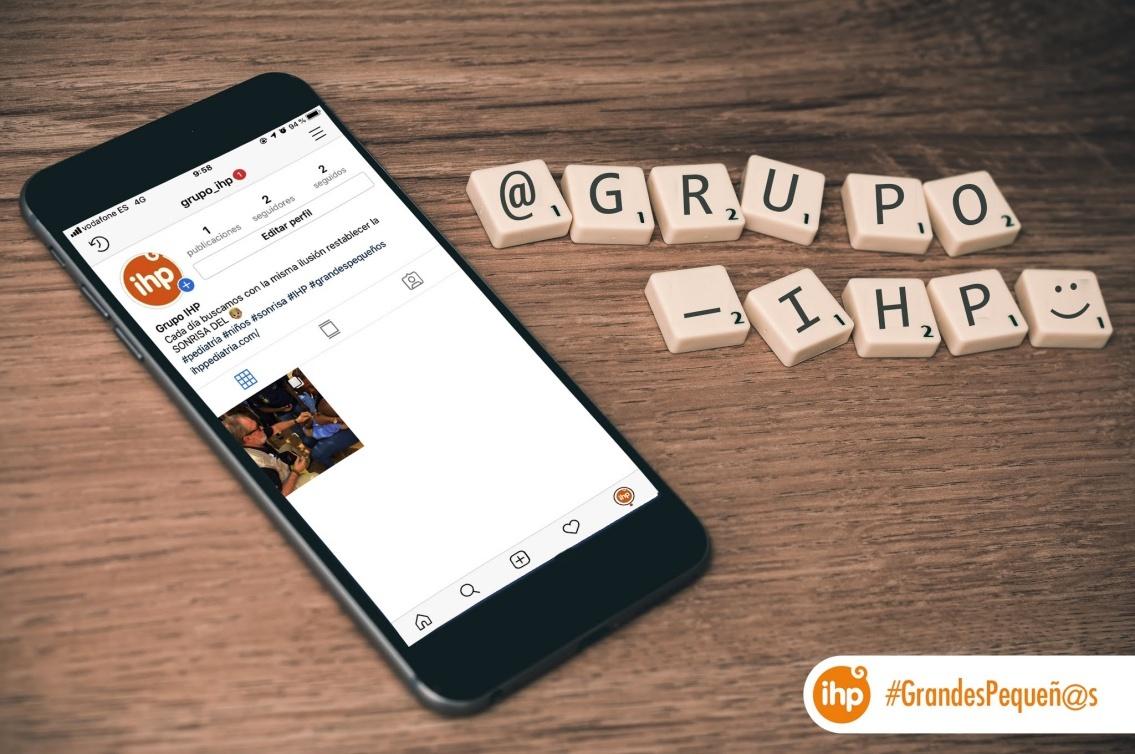 ¡Grupo IHP ya está en Instagram!