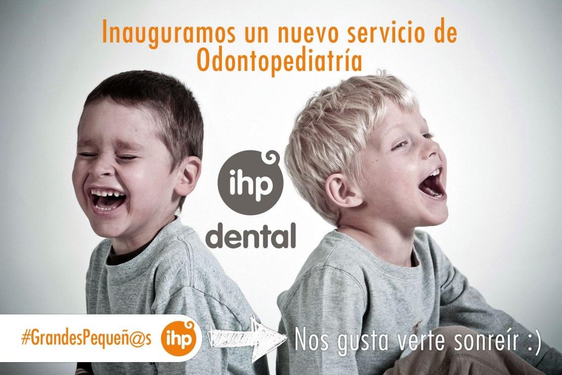 Grupo IHP incluye la odontopediatría y la ortodoncia en su cartera de servicios con la inauguración de IHP Dental