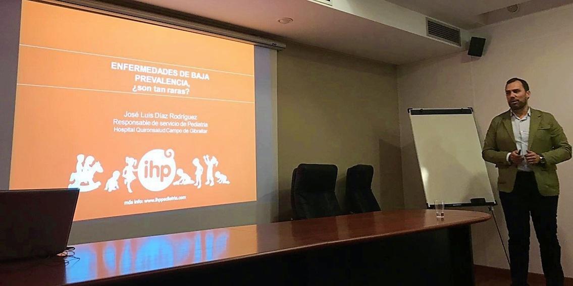 Grupo IHP analiza las enfermedades de baja prevalencia en las Jornadas de Encuentros Pediátricos de Cádiz