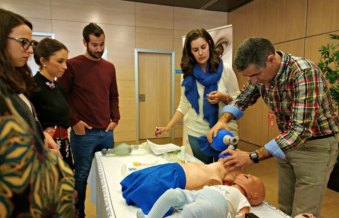 Grupo IHP lleva a Córdoba las últimas técnicas de reanimación cardiopulmonar pediátrica