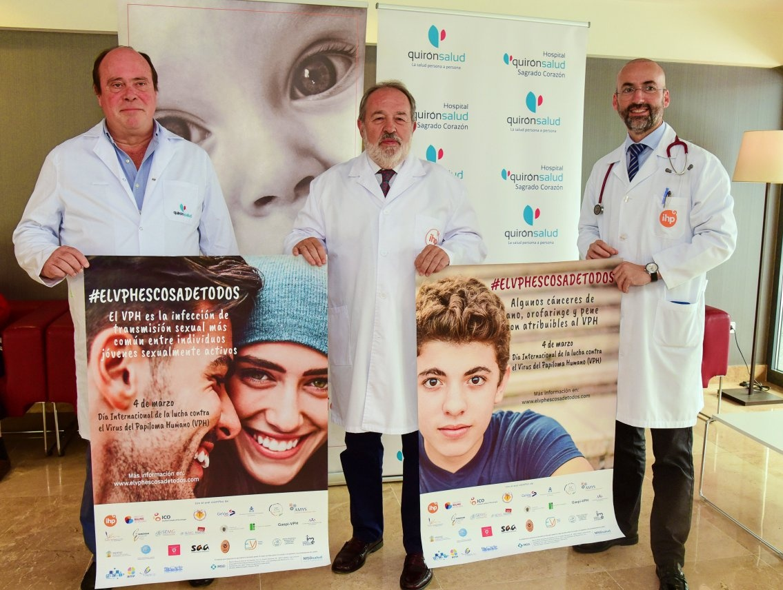 Pediatras y ginecólogos aúnan fuerzas para concienciar a la sociedad sobre la vacunación contra el VPH