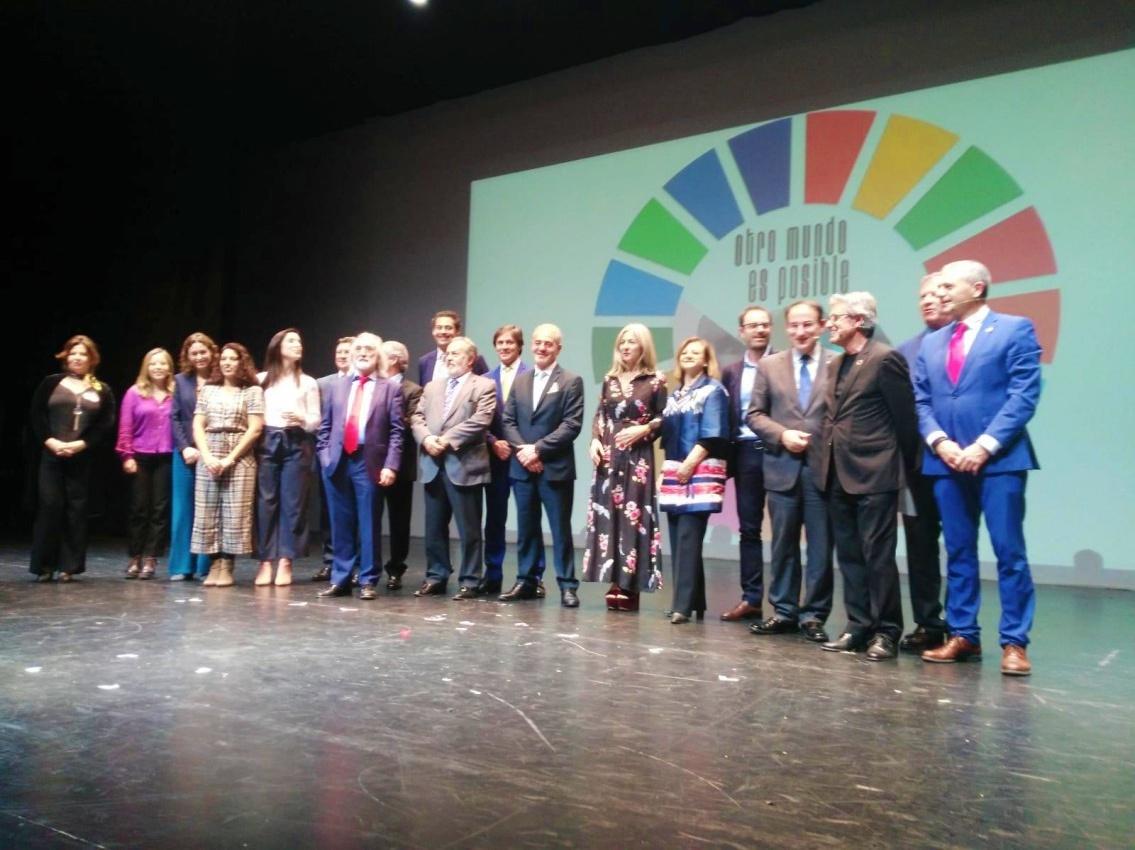 Gran éxito de la presentación del programa VAMOS en la gala Agenda 2030