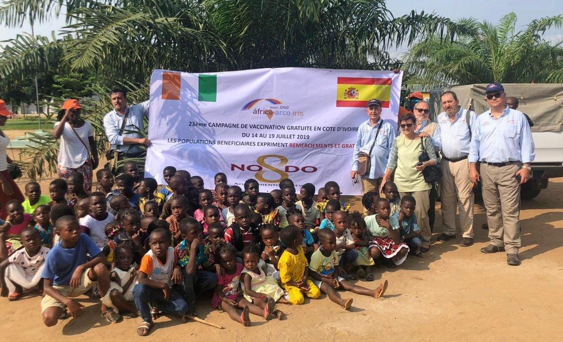 Grupo IHP alcanza los más de 660.000 niños vacunados en Costa de Marfil