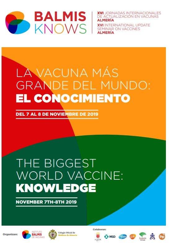 Grupo IHP estará presente en las XVI Jornadas de Actualización en Vacunas 2019 del Instituto Balmis