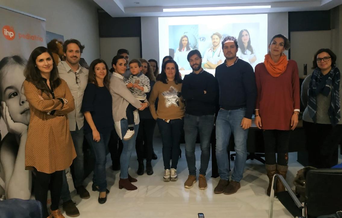 Profesionales de Grupo IHP y padres se unen para conocer en profundidad la atopia