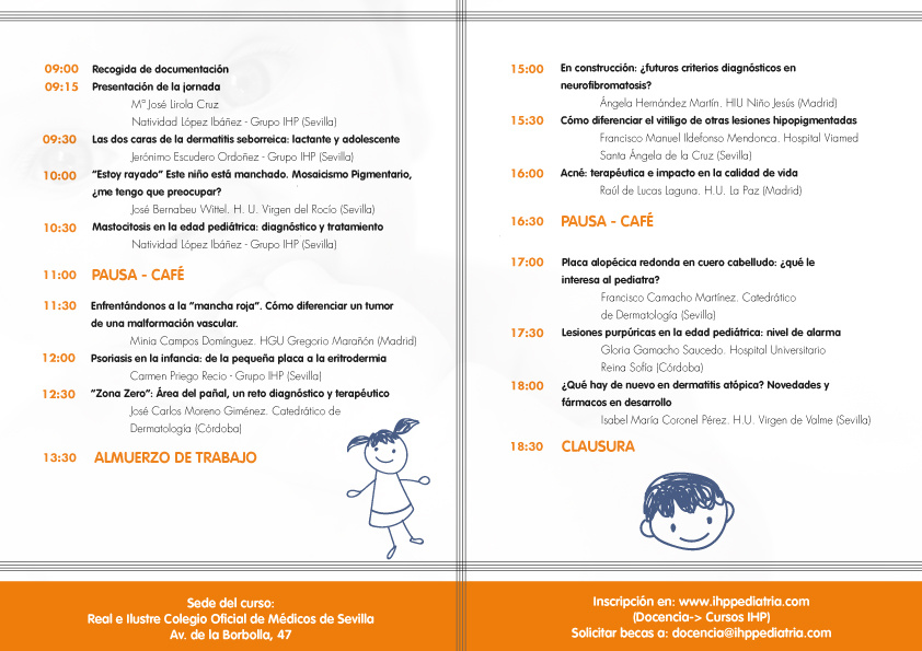 2 de octubre, nueva fecha para la IV Jornada IHP de Dermatología Pediátrica