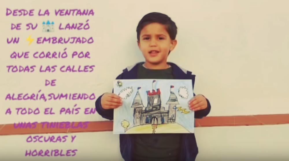 Un cuento de esperanza de los niños frente al COVID-19
