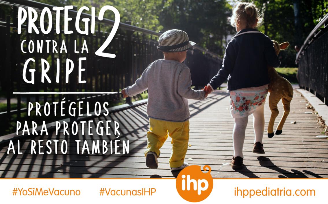 Grupo IHP duplica el número de niños vacunados contra la gripe en tan solo un año