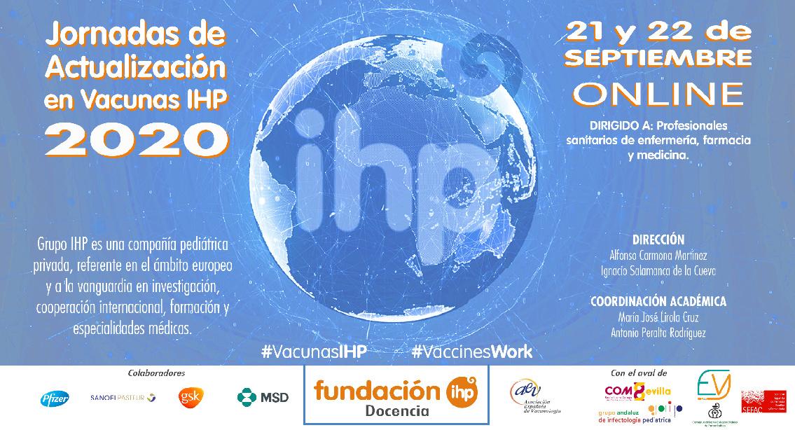 Abierto el plazo de inscripción para las Jornadas de Actualización en Vacunas IHP 2020