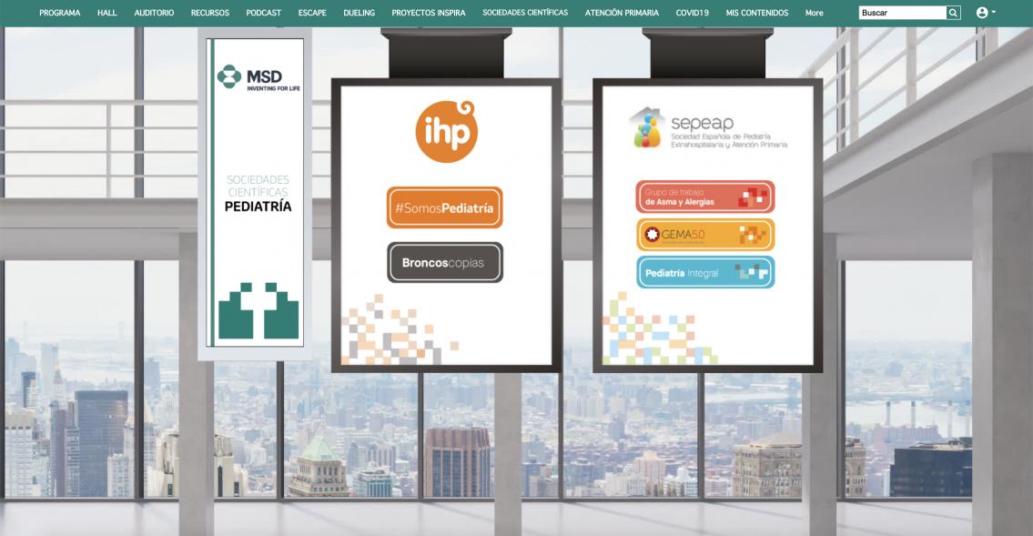 Grupo IHP participa en el Foro Virtual con Expertos en Patologías Respiratorias de MSD