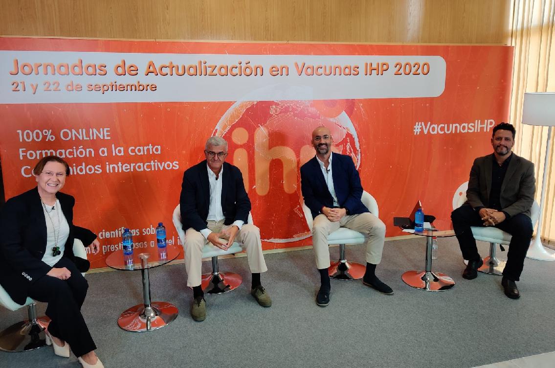 Las Jornadas de Actualización en Vacunas IHP 2020, un gran éxito virtual con más de 800 participantes