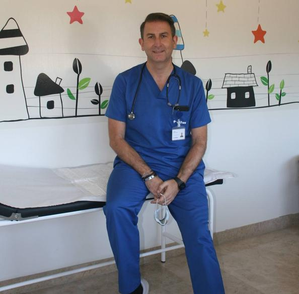 El Dr. Jesús Garrido, nuevo jefe de pediatría de Grupo IHP en Vithas Granada, referente pediátrico en la red