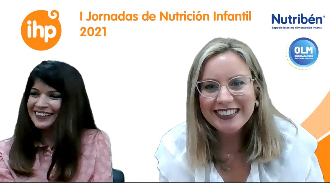 Éxito de participación en el inicio de las I Jornadas de Nutrición Infantil 2021, organizadas por Grupo IHP