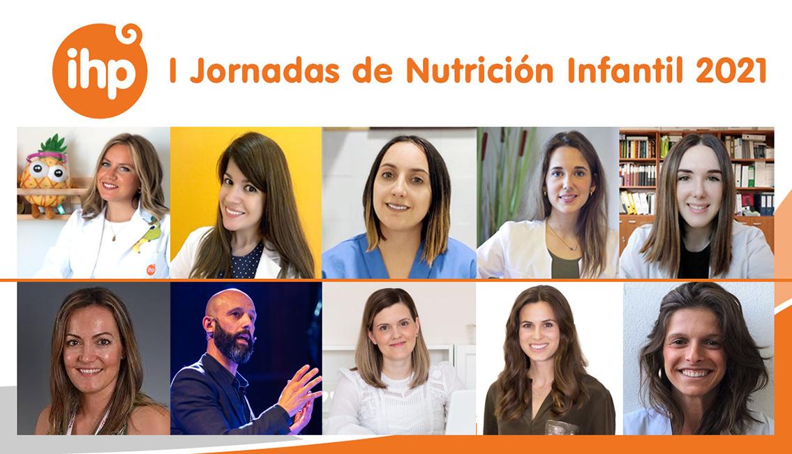 Más de 800 profesionales participan en las I Jornadas de Nutrición Infantil 2021 de Grupo IHP