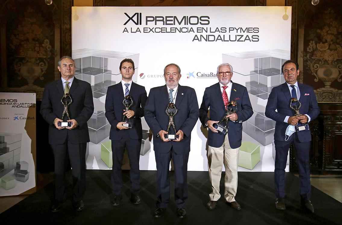 Grupo IHP, galardonada con los XII Premios a la Excelencia en las Pymes Andaluzas de CaixaBank y Grupo Joly