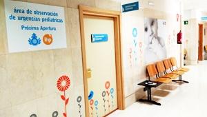 El servicio de pediatría del San Juan de Dios de Córdoba atiende cerca de 11.000 urgencias en su primer año de funcionamiento