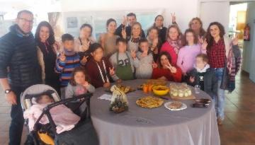 El Programa VAMOS realiza un taller de cocina navideña saludable