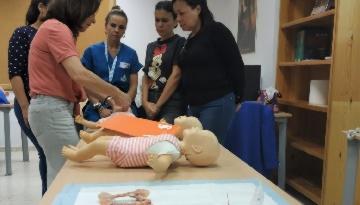 Grupo IHP imparte con éxito el XI Curso de Reanimación Cardiopulmonar intermedia pediátrica en el Hospital San Juan Grande de Jerez