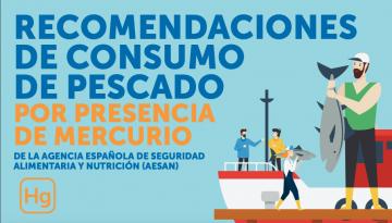 Consumo de pescado rico en mercurio: aviso importante