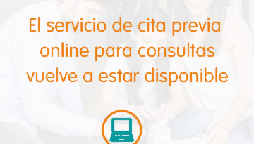 Comunicado oficial IHP: El servicio de cita previa a través de la web vuelve a estar disponible