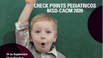 Grupo IHP participa en los Check Points Pediátricos MSD-CACM 2020