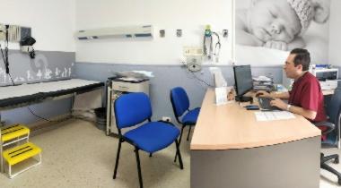 Consulta en la unidad IHP Hospital San Juan Grande