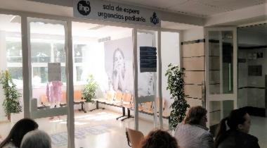 Sala de espera urgencias pediátricas IHP Hospital San Juan Grande