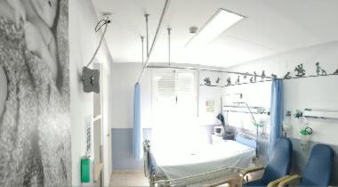 Hospitalización unidad IHP Hospital San Juan Grande